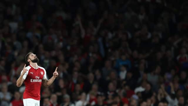 Tendangan Kalajengking Giroud Masuk Nominasi Gol Terbaik Dunia
