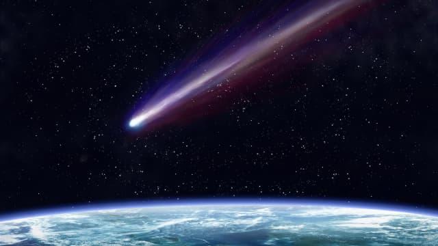 Sekitar 33 Juta Tahun Lalu, Komet Pertama Menghantam Bumi
