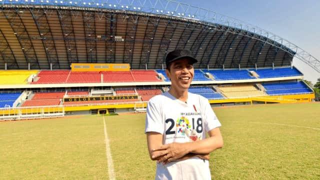 Jokowi Ingin Stadion Jakabaring Dimanfaatkan untuk Sport Studies