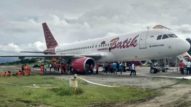 Pesawat Batik Air Dievakuasi, Bandara Manokwari Kembali Normal