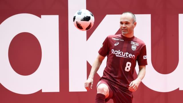 Iniesta Segera Jalani Debut di J-League