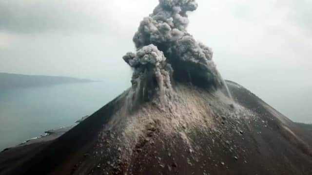 Peneliti ITB: Gunung Krakatau Purba Sudah Kehilangan Tubuhnya