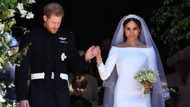 Pangeran Harry Berterima Kasih kepada Makeup Artist Meghan Markle