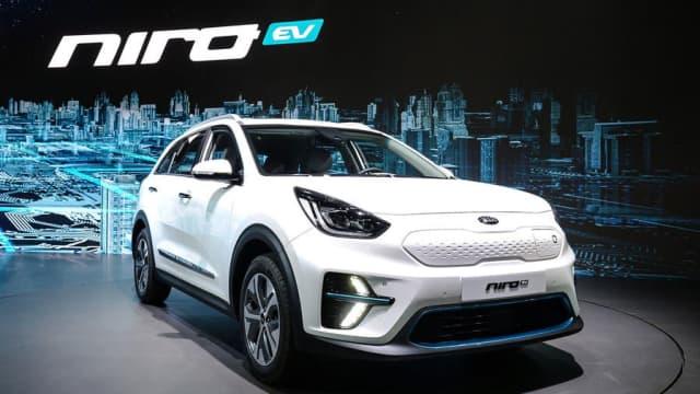 Kia Resmikan SUV Listrik, Niro EV di Korea Selatan
