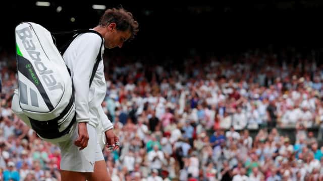 Wimbledon 2018: Dikalahkan Djokovic, Nadal Pulang dengan Terhormat