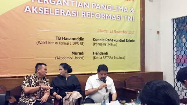 4 Alasan Setara Institute Anggap Reformasi di Tubuh TNI Belum Maksimal