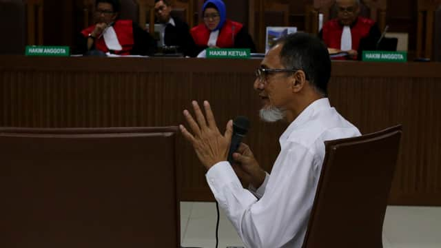 Ali Fahmi Disebut Sebagai 'Mastermind' Kasus Suap Bakamla
