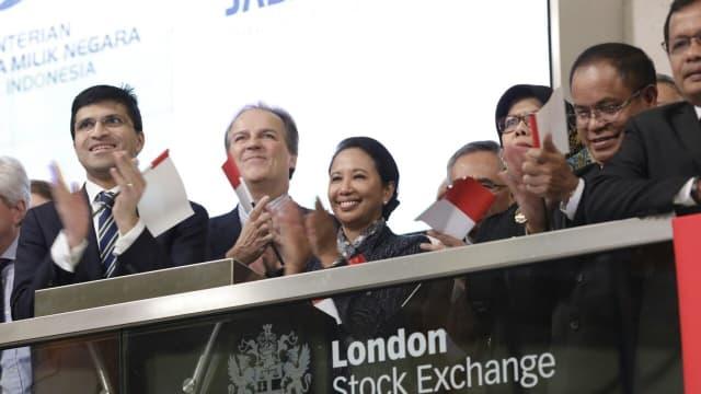Komodo Bond Jasa Marga Resmi Tercatat di Bursa Saham London