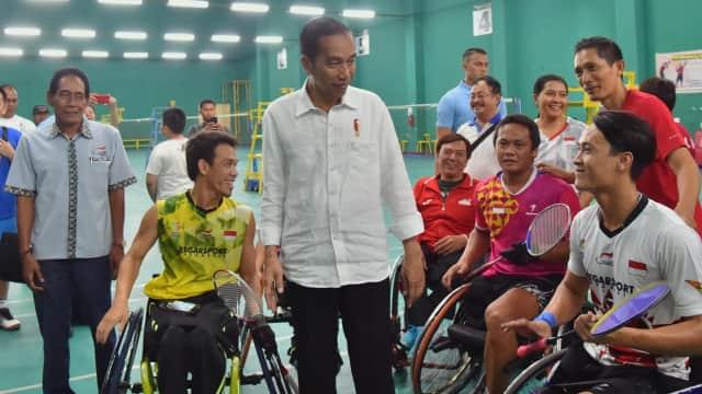 Jokowi Janjikan Bonus Atlet Asian Para Games Sama dengan Asian Games