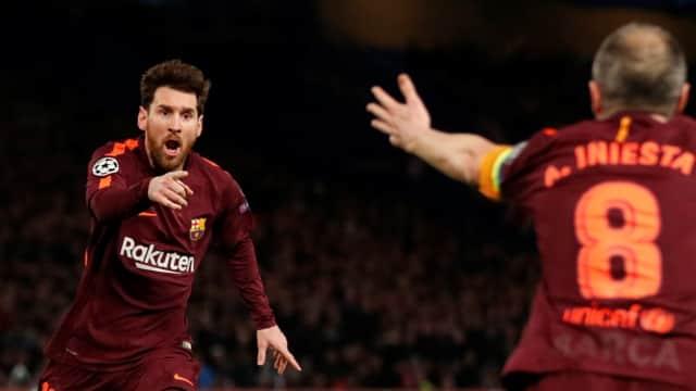 Lionel Messi Pecah Telur dan Rekor-rekor Lainnya