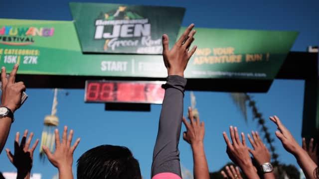 Walau Tak Dapat Medali, Banyuwangi Ijen Green Run 2017 Tetap Membuat Kami Berbangga Hati