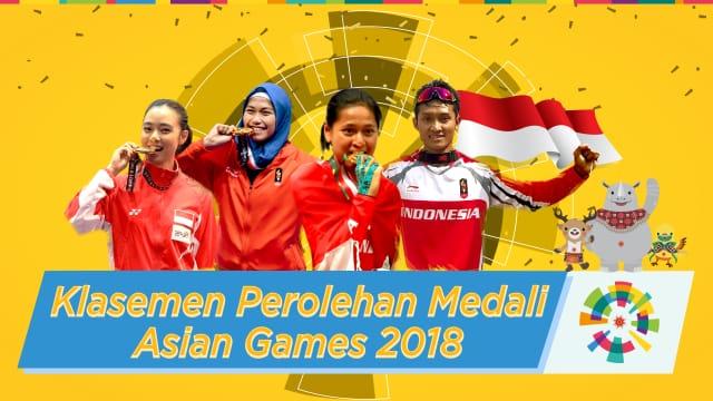 Fakta-Fakta di Balik Perolehan Medali Atlet Indonesia di Asian Games