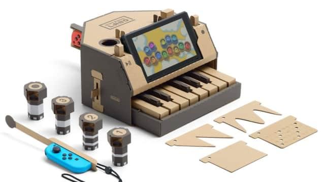 Melihat Labo, Kardus yang Sulap Nintendo Switch Jadi Piano dan Motor