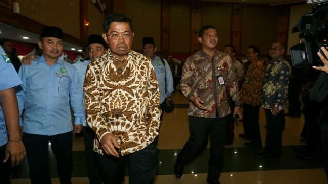 Hari Pertama Bekerja, Mensos Idrus Malah Sambangi DPP PDIP