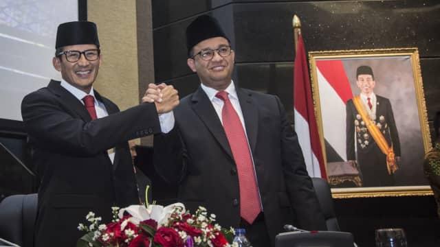 Pantun Anies bagi Anggota DPRD DKI saat Paripurna soal Raperda