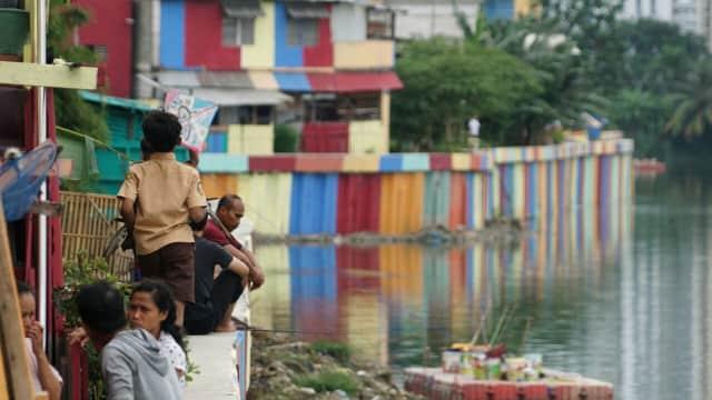Anies: Dana Pengecatan Kampung Sebagian Ditopang CSR Perusahaan