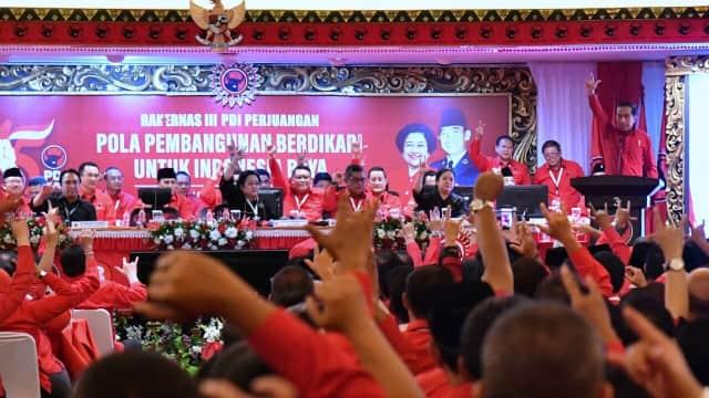 Rakernas PDIP Akan Bacakan Rekomendasi Pilkada 2018 dan Pemilu 2019