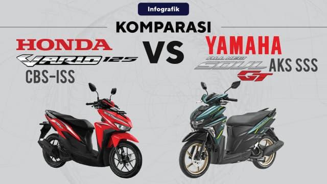 Honda Vario 125 vs Yamaha Soul GT: Skutik Menengah dengan Harga Ramah