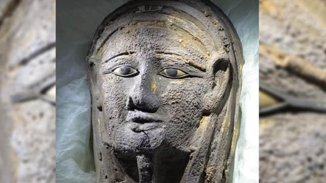 Mumi dengan Topeng Berhias Emas Ditemukan di Kuburan Kuno Mesir