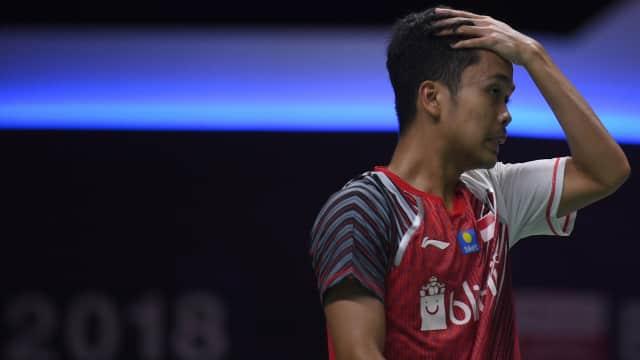 Piala Thomas: Tunggal Putra Indonesia Masih Kalah Pengalaman