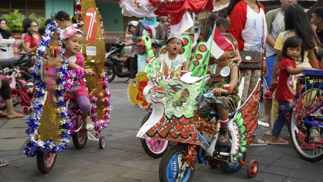 5 Tips Menghias Sepeda Anak untuk Perayaan 17 Agustus