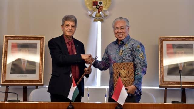 Palestina Ekspor Barang ke Indonesia Lewat Yordania