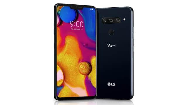 LG V40, Smartphone dengan 3 Kamera Belakang dan 2 Kamera Depan