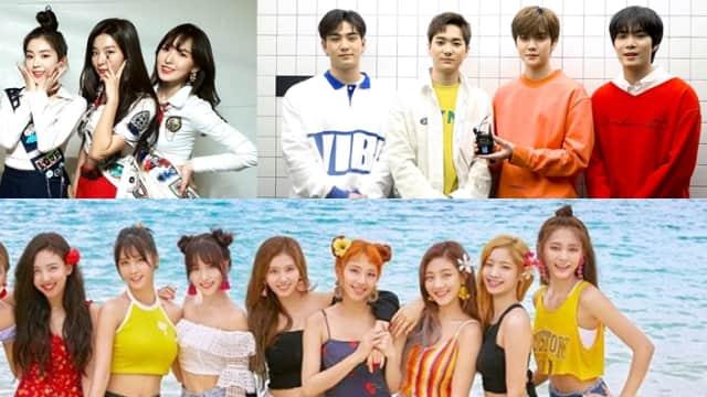 Red Velvet, NU'EST W dan Twice Siap Rilis Lagu Baru