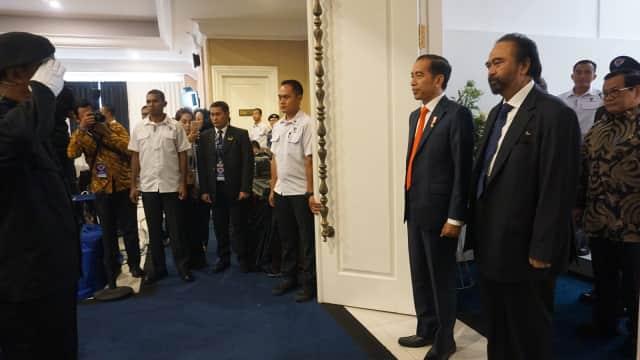 Jokowi Beri Kuliah Umum untuk Angkatan II Akademi Bela Negara NasDem