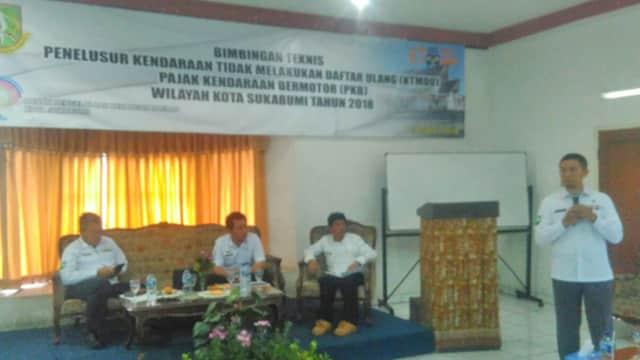 Waduh! 16 Ribu Unit Ranmor di Kota Sukabumi Tak Bayar Pajak