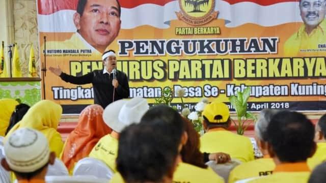 Partai Besutan Anak Soeharto Resmi Dukung Pasangan Deddy Mizwar-Dedi Mulyadi
