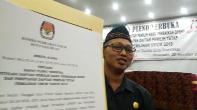 KPU Kota Pasuruan Tetapkan 142.533 Pemilih di Pemilu 2019