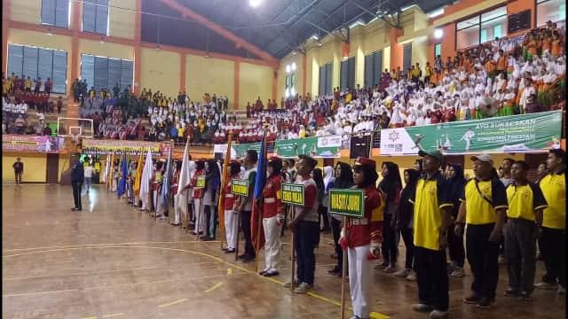 2.464 Peserta Berebut 1.148 Medali POR ke-1 KONI Kabupaten Pasuruan
