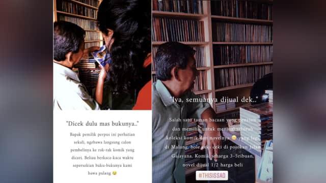 Mari Bantu Edi Selamatkan Taman Baca Legendarisnya di Malang