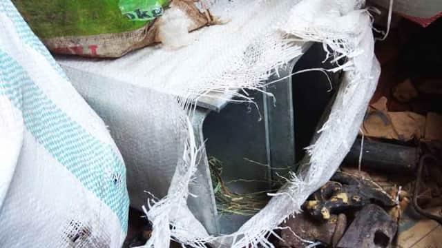 Pembatas Jalan Tol Madiun yang Raib Ditemukan di Lapak Pedagang Loak