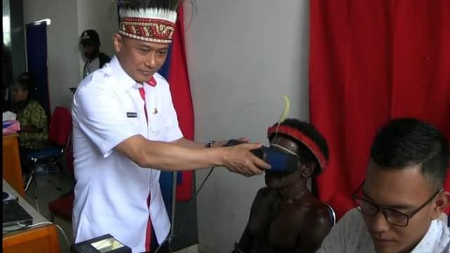 Papua Minim Perekaman e-KTP