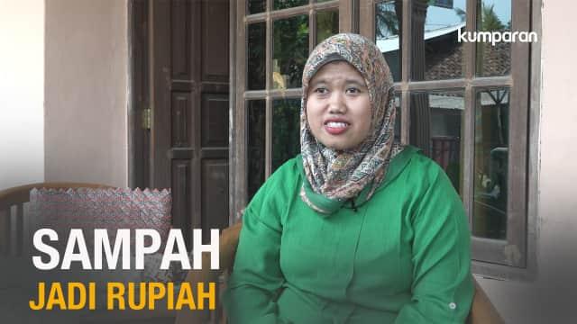 Nina Nuraniyah, 9 Tahun Berjuang Ubah Sampah Jadi Rupiah