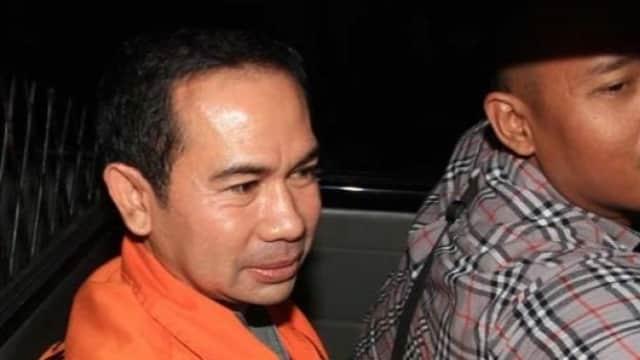 Tahanan Wawan Dipindahkan dari Lapas Sukamiskin ke Rutan KPK