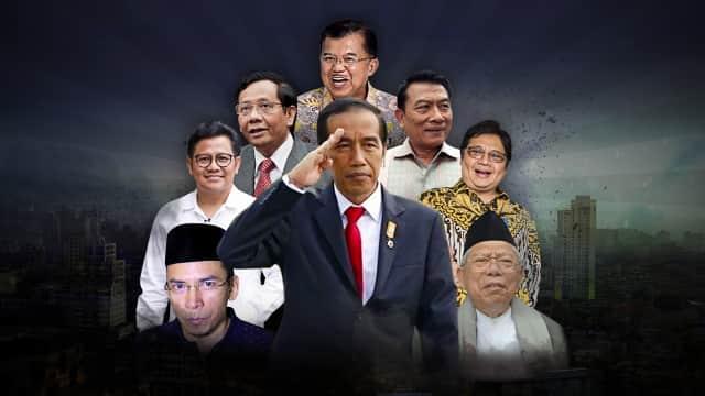 Teka-teki Cawapres Jokowi