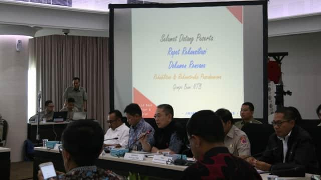 Kemenko PMK Koordinasikan Rencana Aksi Nasional Rehab-Rekon Gempa NTB