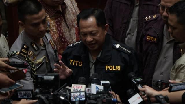 13 Terduga Teroris Ditangkap, Kapolri Minta Warga Tak Ragu ke TPS