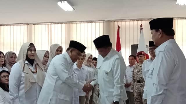 Pensiunan TNI Pimpin Gerindra Jabar