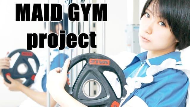 Di Jepang, Kamu Bisa Berolahraga Ditemani Pelayan Cantik