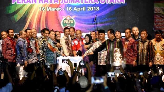 Pekan Raya Sumatera Utara 2018 Resmi Dibuka