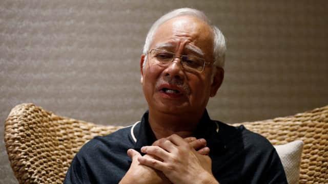 Najib Razak Jelaskan soal Hartanya yang Disita dalam Kasus 1MDB