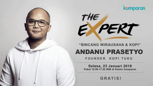 Mari Belajar Memulai Bisnis bersama Founder Kopi Tuku Andanu Prasetyo