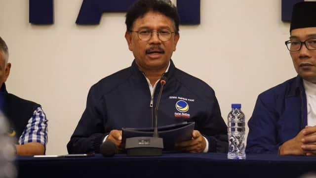 NasDem Minta Demokrat Tak Ambil Pusing soal Tudingan Asia Sentinel