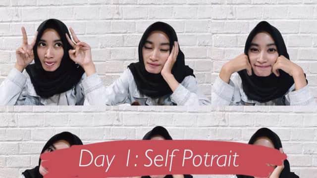Day 1: Self Potrait
