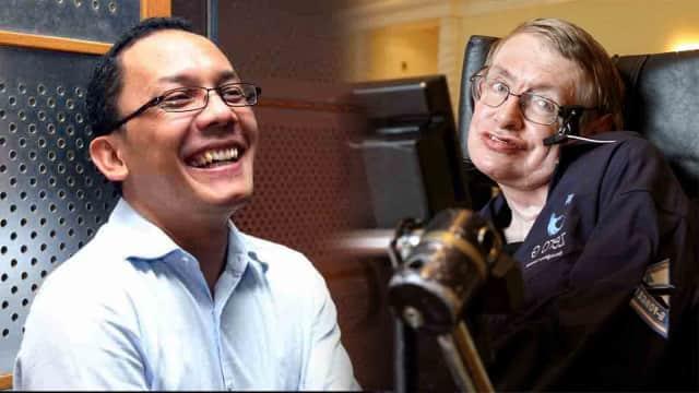 Cerita Peneliti Fisika LIPI soal Pertemuannya dengan Stephen Hawking