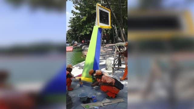 Prasasti kumparan Festival Danau Sunter Dipasang, Diresmikan 9 Mei